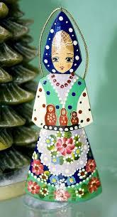 matryoshka russian nesting doll christmas tree ornament it is