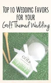 Top 10 Wedding Favors by Top Golf Themed Wedding Favors