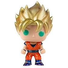 amazon funko pop anime dragonball super saiyan god goku