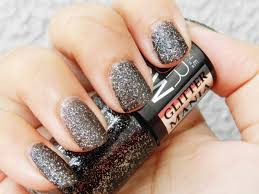 maybelline colorshow glitter mania nail polish in starry nights