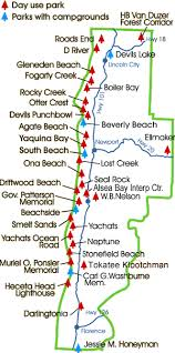 map of the oregon coast oh how i miss this part of heaven my soul continues its journey