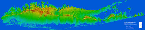 Altitude Map Of Usa by Glacial Geology Of The Stony Brook Setauket Port Jefferson Area1