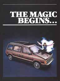 first chrysler minivan 1984 automobile sales brochures started