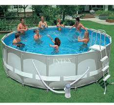 Intex Ultra Frame Pool 14x42 Outdoor How To Build Intex Swimming Pools For Outdoor Decoration