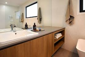 image result for polytec sepia oak bathrooms modern
