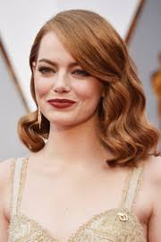 framed face hairstyles emma stone shoulder length hairstyles emma stone hair stylebistro