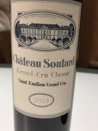 learn about chateau soutard st château soutard émilion grand cru classé 2012 wine info