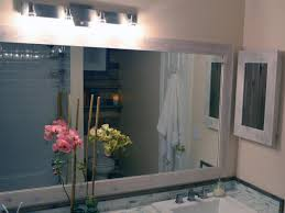 Large Bathroom Mirror With Lights How To Replace A Bathroom Light Fixture How Tos Diy