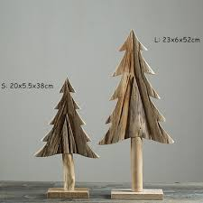 china creative wooden christmas tree 100 handmade natural wood