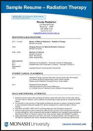 respiratory therapist resume objective sample radiation therapist resume art therapist resume sample