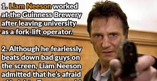 Liam Neeson Memes - 43 action packed facts about liam neeson