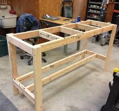 25 Best Building A Workbench Ideas On Pinterest Diy Garage by Garage Workbench Building Garage Workbench Plansbuild Plans