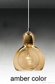 Cheap Pendant Lights by Discount Tom Dixon Mini Void Light Glass Lights Amber Clear Smoke