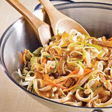 recette de cuisine asiatique sauté de bœuf à l asiatique au parfum d érable recettes
