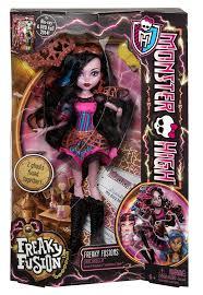 amazon monster freaky fusion dracubecca doll toys u0026 games