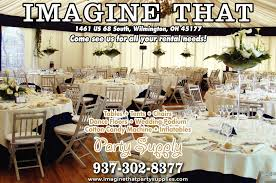 local party rentals number one source for party equipment rentals imagine that party