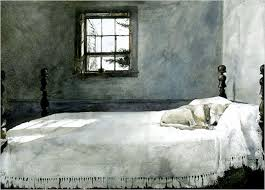 Andrew Wyeth Master Bedroom