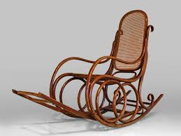 Indoor Wooden Rocking Chair Rocking Chair Design Thonet Rocking Chair Vintage Style Bentwood
