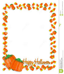 halloween candy border stock images image 6533874
