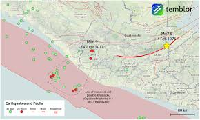 Argonne National Laboratory Map From Temblor U201cdeep M U003d6 9 Earthquake In Guatemala Possibly