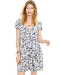 denim u0026 supply ralph lauren floral print babydoll dress dresses