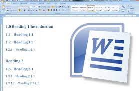 How To Properly Set A Table by Numbered Headings And Automated Table Of Contents Office Word