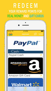 gift card rewards app appcash money earn free gift cards reward points app store