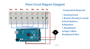diy piano using scratch and evive arduino powered embedded