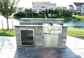 Prefab Outdoor Kitchen Grill Islands Prefab Outdoor Kitchen Mjex Co