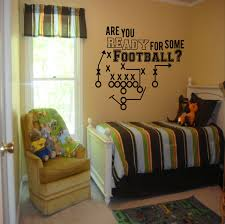 are you ready for some football decal boys room decor football football laces wall decal boys room decor football by sportsvinyl