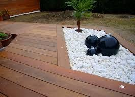 le de terrasse encastrable emejing terrasse bois galets blancs gallery transformatorio