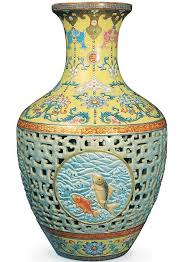 Japanese Dragon Vase 53m Chinese Vase Was Kept On Wobbly Bookcase And Insured For Just
