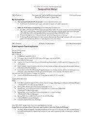 Coaching Resume Sample by Head Basketball Coach Resume Examples Contegri Com