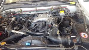 nissan pathfinder egr valve 1997 nissan pathfinder engine bay youtube