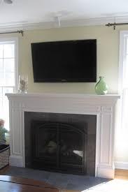fireplace mantel ideas with tv home design judea us