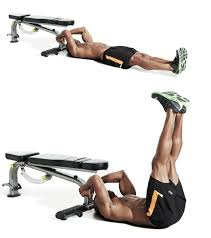Leg Raise On Bench The 25 Best Exercises For Your Lower Abs
