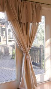 How To Use Curtain Tie Backs Easy Peasy New Curtains