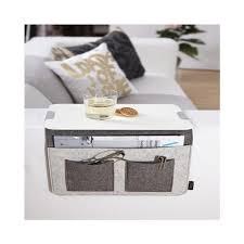 plateau canapé plateau pour canapé carry desserte de 21 x 34 cm gris achat