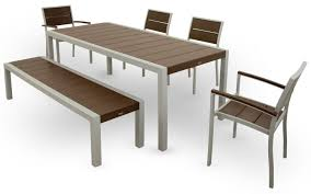 Patio Table And 6 Chairs Trex Outdoor Furniture Txs124 1 11vl Surf City 6