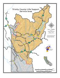 Primary Map Coverage Map Trinity County Life Support