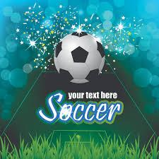 soccer creative poster vector material u2013 over millions vectors