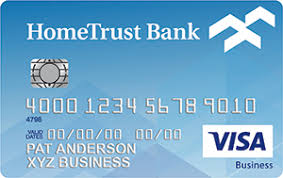 Visa Business Card Credit Cards Business Hometrust Banking
