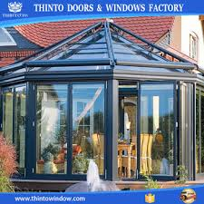 Glass For Sunroom New Design Popular High Quality Aluminum Lowes Glass Sunroom For