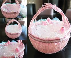 easter egg baskets to make frozen string easter basket i made for my daughters friends