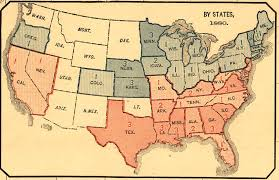 1860 Election Map by The Twisted History Of Political Mapping Mapping The Nation Blog