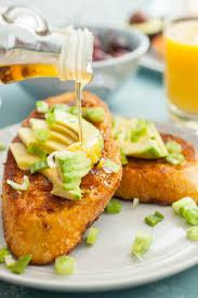 savory avocado french toast recipe macheesmo