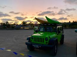 jeep beach sunset newport harbor pizza paddle halloween 2017 pirate edition