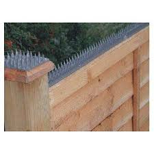 home security fence prikka take that raccoons and intruders