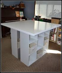 Diy Craft Desk With Storage Diy Craft Table How To Make A Craft Desk With Cubicles Craft