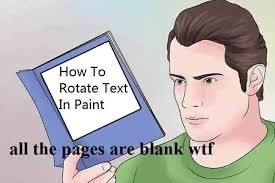 How To Make A Meme In Paint - how do i rotate text in ms paint know your meme